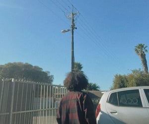 aesthetic, street, and curly hair image