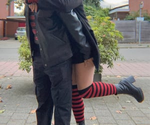 couple, matching outfits, and cute image