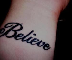 believe, nice, and tattoo image