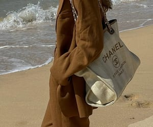 beach day, blogger, and chanel image