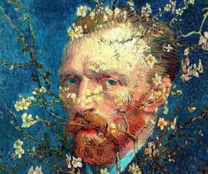 photoshop, vincent van gogh, and Optical Illusions image