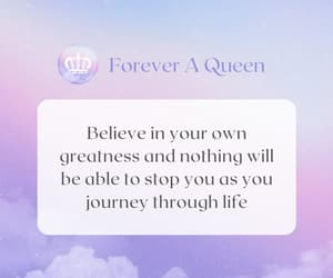 Queen, quote, and boss girl image