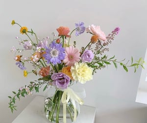 flowers, pastel, and aesthetic image