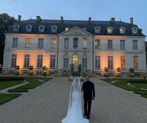bride groom, dreamy, and elegant image