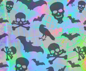 bats, scary, and birds image