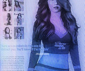 cyber, megan fox, and cybercore image