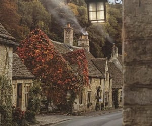 autumn, british, and countryside image