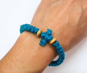 bracelet, cross, and get well gifts image