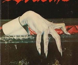 Dracula, book, and dark image