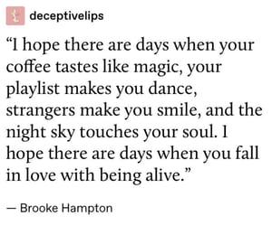 alive, coffee, and life image