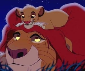 disney, the lion king, and Fathers Day image