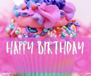 anniversary, birthday, and cupcake image