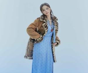 blue, chou tzuyu, and magazine image