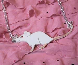 creepy cute, pastel grunge, and rat jewelry image