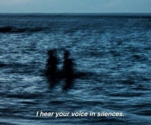 blue, silence, and voice image