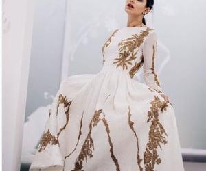 details, dress, and goddess image
