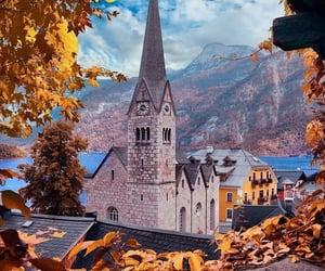 autumn, arquitectura, and belleza image