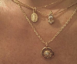 chain, gold, and jewelry image