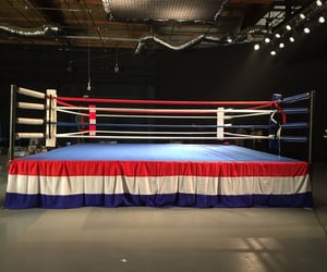 boxing, boxingring, and boxinggloves image