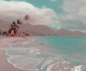 beach, aesthetic theme, and jay theme image