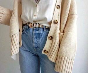 brownish and cardigan sweater jacket image