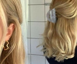 blonde, beauty, and fashion image