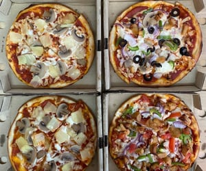 anniversary, food, and pizza image