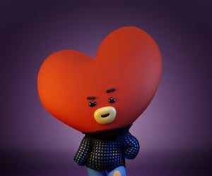 animation, bts, and love yourself image