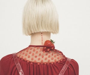 back, strawberry, and blond image