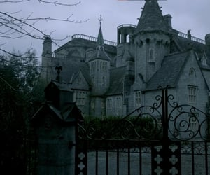 castle, victorian era, and mansion image