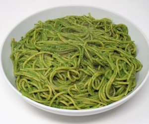 food, recipe, and pasta image