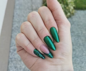 glitters, green, and long image