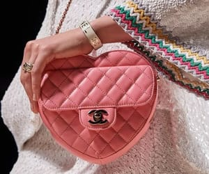 chanel, designer, and heart image
