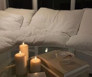 candles, home, and winter image
