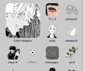 izaña, tokyo revengers, and ios 14 homescreen image