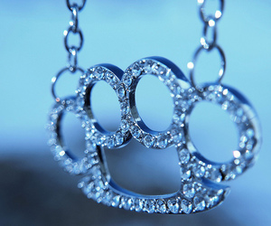 diamond, brass knuckles, and necklace image