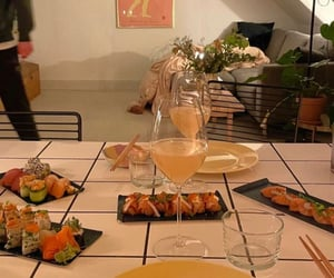 apartment, romantic dinner, and dinner image