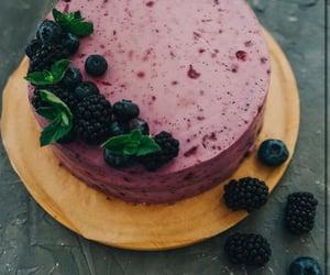 berries, food, and blackberries image