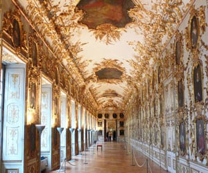 culture, golden, and rococo image