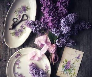 cottage, decor, and lavender image