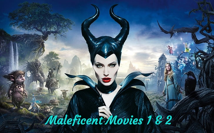 Action, maleficent, and adventure image