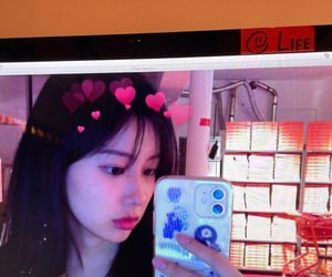 hyewon, izone, and kang hyewon image