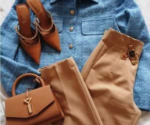 pants and denim chemise image