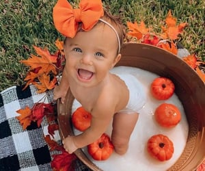 baby and fall image