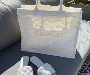 Christian Dior, luxury, and white purse image
