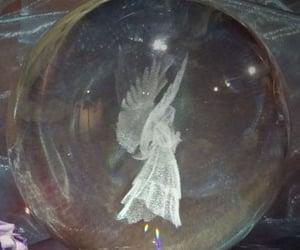 aesthetic, crystal ball, and grunge image