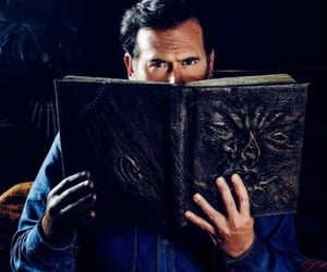 ash, Bruce Campbell, and campbell image