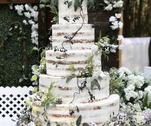 boho, cake, and decor image