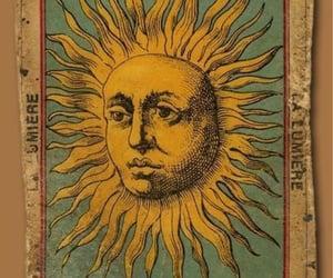 sun, vintage, and tarot image