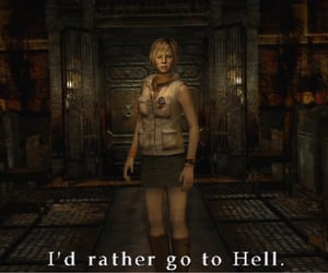 quote, silent hill 3, and silent hill image